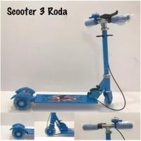 PROMO Skuter Anak Karakter Roda Tiga / Sekuter Injak / Scooter / Otopa
