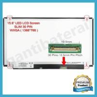 LCD LED 11.6 inch Slim 40 Pin Kiri Kanan Acer Lenovo Asus