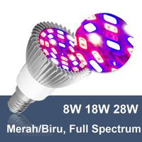 Lampu Cahaya Tanaman Tumbuhan Hidroponik LED Grow Light E27 220V