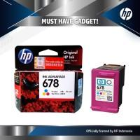 Tinta HP 678 Ink Colour Cartridge - For 1515, 2545 Color Original