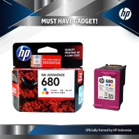 Tinta HP 680 Colour Ink Cartridge - For 2135, 3635 / Color Original