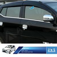 Toyota Agya Talang Air / Side Visor Injection /Aksesoris Agya