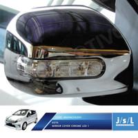 Toyota Agya Cover Spion Krom / Mirror Cover Chrome / Aksesoris Agya
