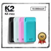 [GROSIR] Powerbank K2-PB02 10000Mah K2 PREMIUM QUALITY Garansi 18Bln