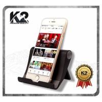 [GROSIR] FOLDABLE UNIVERSAL STENT K2 PREMIUM QUALITY Stand Phone