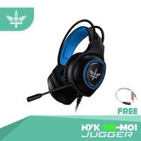 Headset Gaming Nyk Nemesis Jugger HS-M01 for mobile And desktop