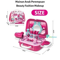 Beauty Fashion Set - Mainan Anak Perempuan Alat Make Up Set Dandan