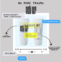 [PREORDER DESIGN NCT 127 NO MORE TRAUMA] REUSABLE CUP TWITTER @RYUCUPS