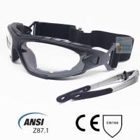 Kacamata/Goggle Safety (Bisa menggunakan strap atau frame) ANSI Z87.1