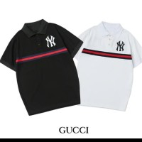 tshirt baju Kaos Kerah NEW YORK X GUCCI TERLARIS - HIGH QUALITY