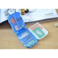 Kotak Obat Folca Medicine Box Multi Kompartemen Pill Case Tempat Obat