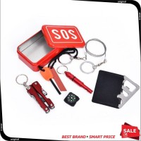 Portable SOS Tool Kit Earthquake Emergency Outdoor Survival