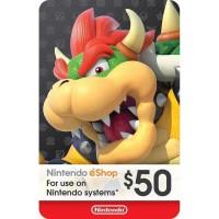 $50 Nintendo eShop - Gift Card Digital Code USA