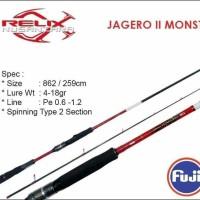 Joran Cangkek Jagero II Monstero 862 UL Relix Nusantara PE 0,6-1,2