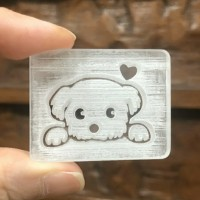 Doggie Love soap stamp stempel sabun MAGA