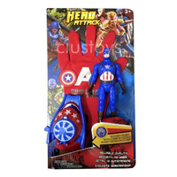 Sarung Tangan Iron Man - Spiderman - Captain America - Koleksi Figure