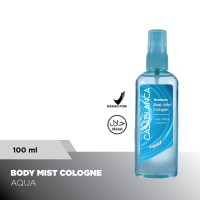 Casablanca Body Mist Aqua (Light Blue, 100ml)