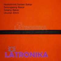 Heatshrink 8mm Heat Shrink Tube 8 mm Selongsong Isolasi Bakar Susut