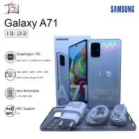 SAMSUNG GALAXY A71 8/128 RAM 8GB ROM 128GB GARANSI RESMI SEIN