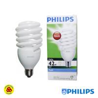 Philips Lampu Helix 42W Putih E27 Bohlam Spiral 42 Watt Cool Daylight