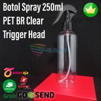 Botol Spray 250ml BR Clear Trigger Head