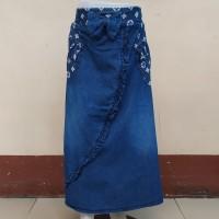 Rok Panjang Jeans Anak Cewek Perempuan