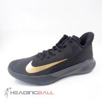 Sepatu Basket Nike Original PrecisionIV Black Metallic Gold CK1069-002