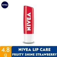 Nivea Lip Care Fruity Shine Strawberry / Lip Balm Nivea Stick