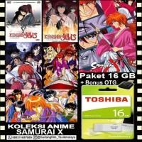 FLASHDISK TOSHIBA 16GB + KOLEKSI FILM SAMURAI X + OTG