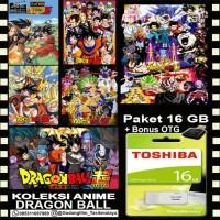 FLASHDISK TOSHIBA 16GB + KOLEKSI FILM DRAGONBALL + OTG