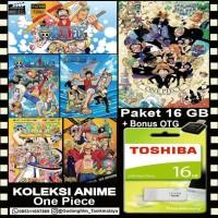 FLASHDISK TOSHIBA 16GB + KOLEKSI FILM ONE PIECE + OTG