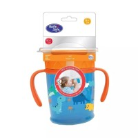 BABYSAFE 360° Sipper Cup with Handle Baby Training Cup Cangkir Bayi -