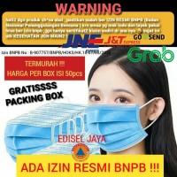 Masker 3ply isi 50 masker medis bedah masker kesehatan 3 ply face mask