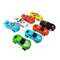 Isi 4 pcs Mainan Mobil Pullback seri Racing City Car