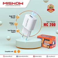 Mishow Charger Adaptor MC 200 Fast Charging 2.1 A