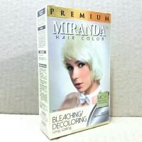Miranda hair color bleaching/decoloring   Miranda mc 6 Bleaching
