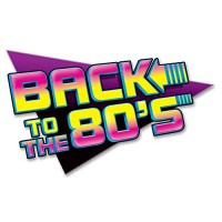 Beistle 54311 1-Pack Back To The 80's Sign Party Decorations, 15-1/2-I