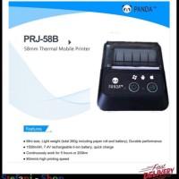 MINI PORTABLE PRINTER THERMAL PANDA 58B - USB DAN BLUETOOTH