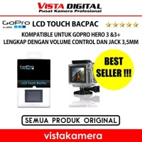 GOPRO LCD TOUCH BACPAC FOR HERO3 AND HERO3 ORIGINAL sparepart