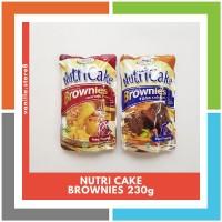KH393 PROMO NUTRI CAKE BROWNIES TANPA MIXER RASA 230g