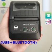 Mini Portable printer PPOB EUCCOI EC-583BS 58mm Thermal Bluetooth