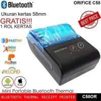 Mini Printer Mobile Bluetooth Kasir PPOB Portable Struk 58MM Thermal