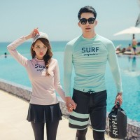 Asli Setelan Pakaian Renang Pria/Wanita Windsurf untuk Pantai/Pasangan