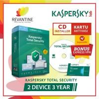 Antivirus Kaspersky Total Security 2 Device 3 Tahun tools n parts