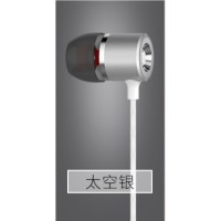 High-grade metal earphone In-ear Subwoofer With micphone earbuds
