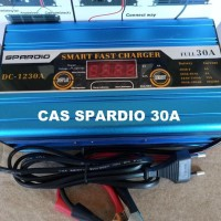 Smart Fast Battery Charger Aki Otomatis SPARDIO DC 12V 30A DC-1230A