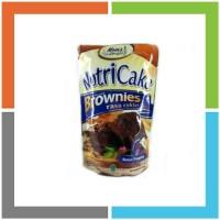 OB697 NUTRICAKE NUTRI CAKE BROWNIES TANPA MIXER RASA COKLAT KEJU