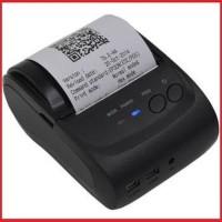 Portable Printer POS Bluetooh Koneksi Printer Kasir Simple Compact
