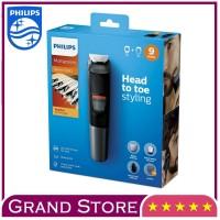Alat Cukur Rambut Kumis & Jenggot Philips MG5720 9 in 1 Multi Groom