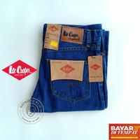 OBRAL Lee Cooper Biru Tua 28 - 32 Celana Jeans Pria Panjang Standard